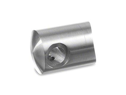 Koncovka levá pro lanko Ø3,2 mm pro sloupek pr. 48,3mm AISI 316, lesk
