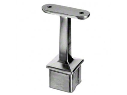 Nerezový držák madla (plochý základ) pro sloupek 40 x 40 x 2,0 mm, AISI 316