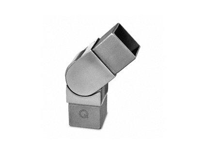 Kloubový spoj (od 0° do 90°) pro profil 40 x 40 x 2 mm