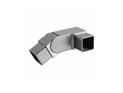 Kloubový spoj (od 0° do 70°) pro profil 40 x 40 x 2 mm