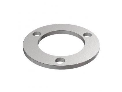 Montážní kroužek Ø76 x 4,0 mm pro sloupek 42,4 mm, surový