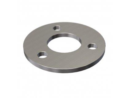 Montážní kroužek Ø100 x 6,0 mm pro sloupek 42,4 mm, brus