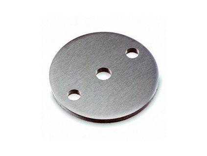 Montážní patka Ø70 x 6,0 mm, brus