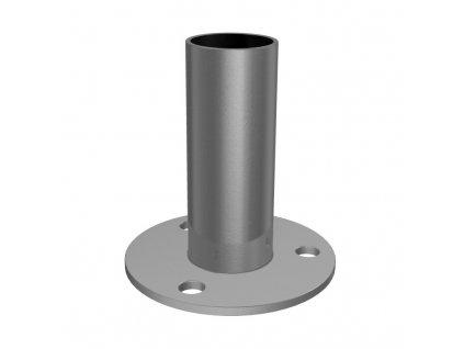 Montážní patka pro sloupek Ø42,4 x 2,0 mm, 3 ukotvení
