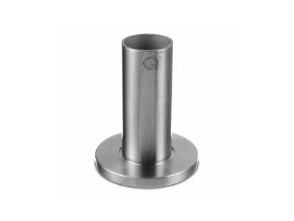 Montážní patka pro sloupek Ø48,3 x 2,0 mm, brus