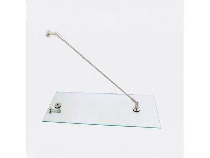 Kování pro skleněný přístřešek, model SABRE