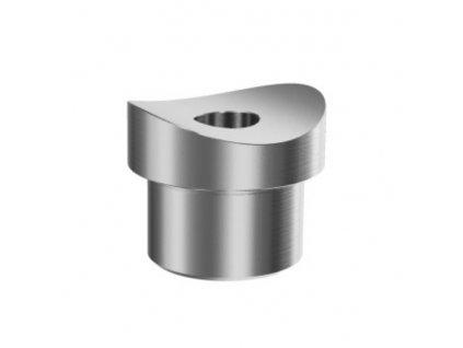 Nerezový držák svislé výplně pr. 20 mm pro trubku pr. 33.7 mm