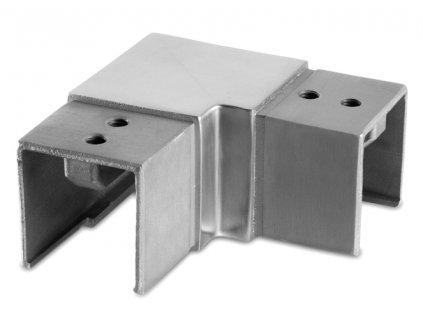 Rohový spoj 40 x 40 mm, AISI 304