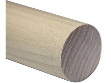 Madlo dřevěné - buk (surové) Ø48mm, 2500mm