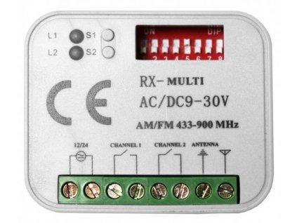 Ovládací prvky  Externí přijímač RX MULTI  10% sleva pro registrované zákazníky