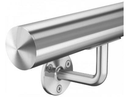 Madlo z nerezové oceli pr. 42,4mm komplet - model 0100