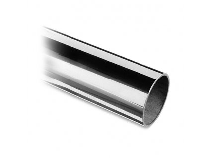 Nerezová trubka pr. 42,4 x 2,0 mm, délka 3000 mm, lesk