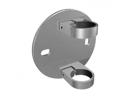 Boční kotvení sloupku Ø48,3 mm, brus