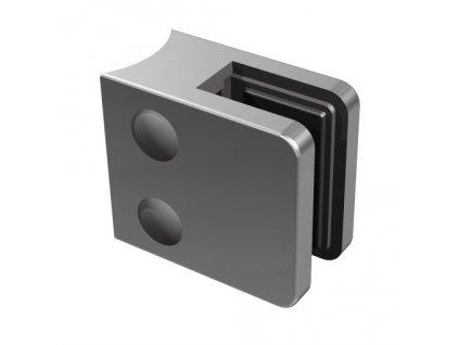 Nerez držák skla 45 x 45 mm, pro sloupek pr. 42.4 mm