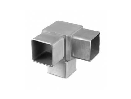 Rohový spoj pro profil 40 x 40 x 2,0 mm, broušený