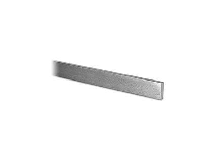 Plochý profil 5 x 15 x 2500 mm, aisi 304 - brus