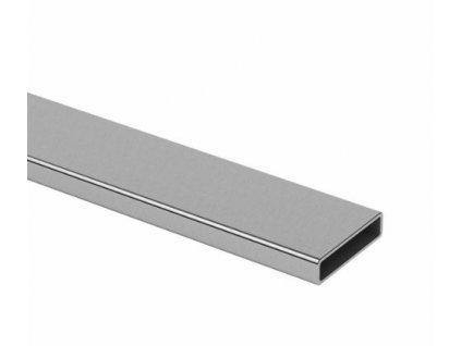 Plochý profil 40 x 10 x 1,5 v délce 2500 mm, aisi 304 - brus