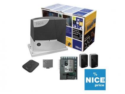 Kompletní systém NICE ROBUS1000 pro posuvné brány max 1000kg