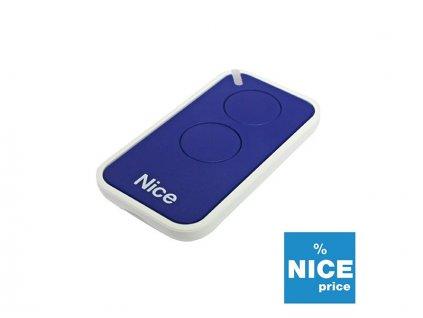 Dálkový ovladač NICE INTI 2B modrý