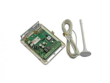 GSM ovládání vrat a bran + EventLog 12-24V, ESIM32
