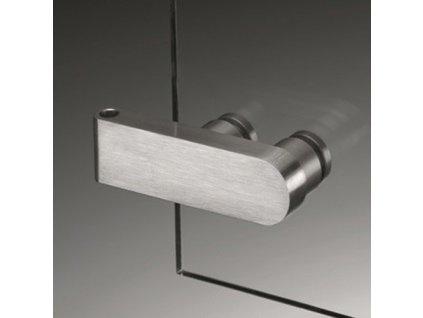 Kování pro skleněné dveře model 13180 (pár)