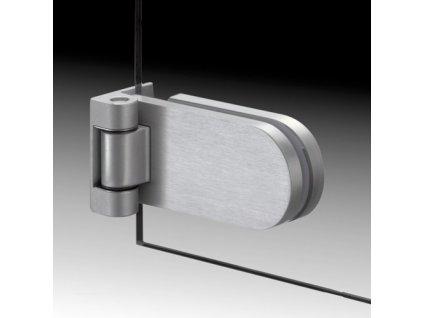 Kování pro skleněné dveře model 13200 (pár)