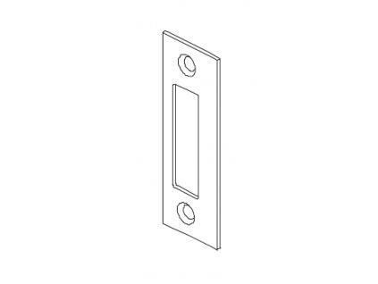 Protikus zámku pro skleněné dveře typ 15430