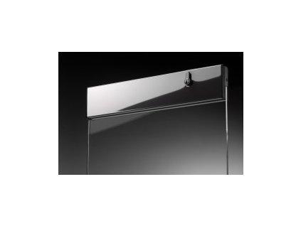 Vrchní profil dveří se zámkem typ 17370