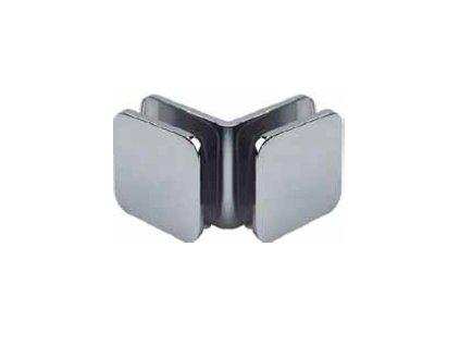 Upevňovací kostka pro sprchové kouty 90° (sklo/sklo) model 16290