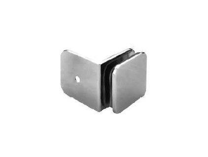 Upevňovací kostka pro sprchové kouty 90° (sklo/stěna) model 16291