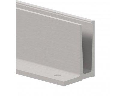 Balustrada szklana profil podlogowy skrajny0