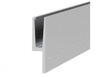 Hliníkový kotvící profil 200/48 pro sklo - boční kotvení, tvar Y