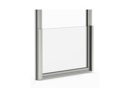Zábradlí pro fr. Okno - French Glass - elox stříbrná