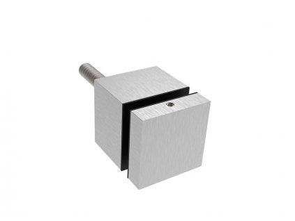 Bodový držák skla - hranatý 40x40mm AISI 304 -brus