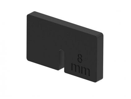 Do držáku skla 45x45mm - sklo 8mm