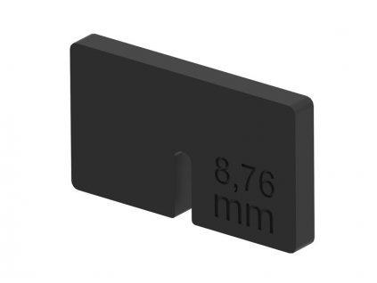Do držáku skla 45x45mm - sklo 8,76mm