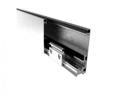 Zasklení pevné - set 3m profilu, L=3000mm