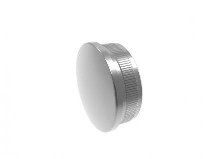 Vypouklá záslepka pro trubku O42,4 x 2,0 mm - leštěná