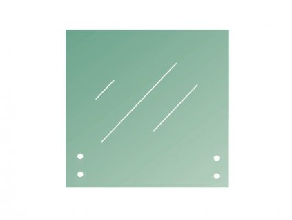 Sklo tl. 16,76mm 1200x1100 - čiré, lepené