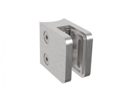 Nerez držák skla 45 x 45 mm, pro sloupek O33,7 mm, AISI 304