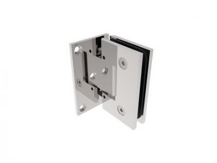 Pant pro skleněné dveře stěna/sklo +/- 90stup. fl, lesklé