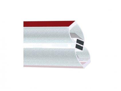 Těsnící lišta magnetická 90/180° PVC pár