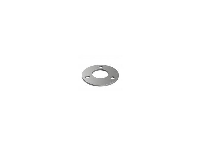 Montážní kroužek Ø94 x 4,0 mm pro sloupek 42,4 mm, surový
