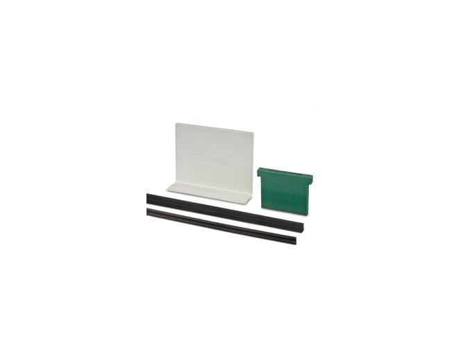 Set montážních gum na sklo od 12 do 21,52mm, délka 2500mm