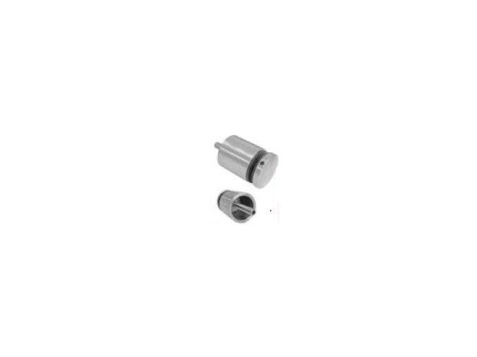 Bodový držák skla pro profil 40x40x2/D50/H50/T