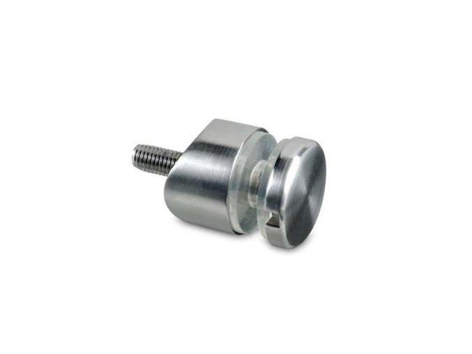 Bodový držák skla pro sloupek pr. 42.4 mm/D30/H15/T6-16