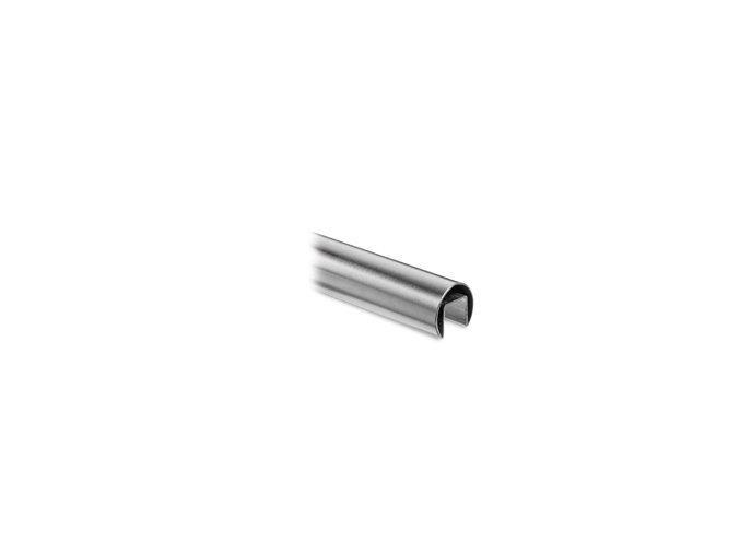 Nerezové madlo D48,3/27x30mm pro samonosné zábradlí. L:2500mm