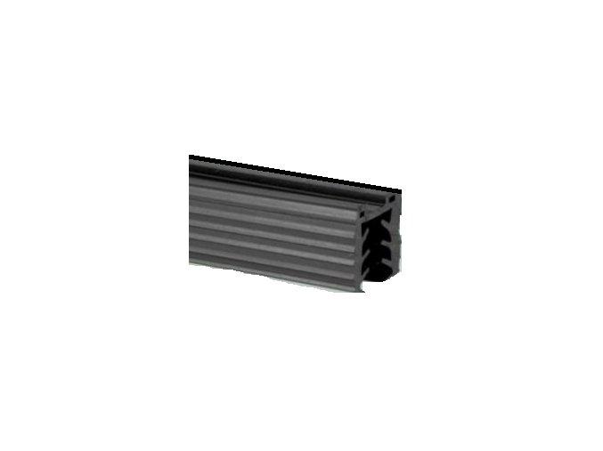 Těsnění madla - pro sklo T20,5-21,5mm/27x30mm