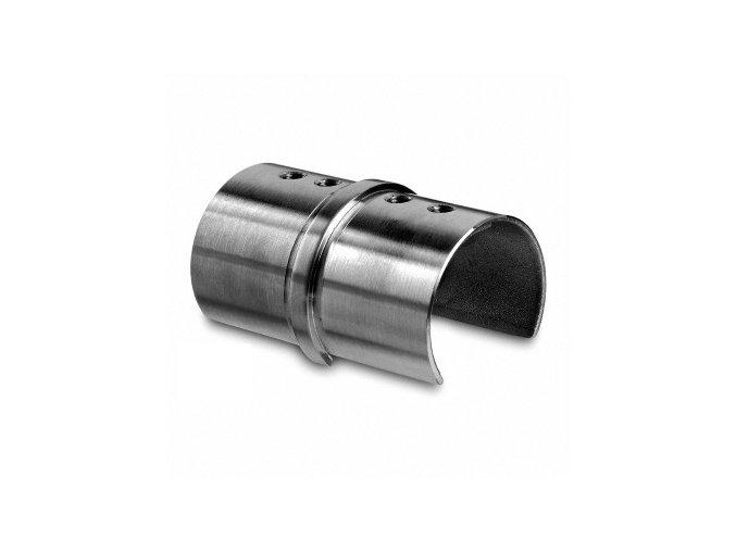 Nerezová spojka madla - držák skla . D42mm