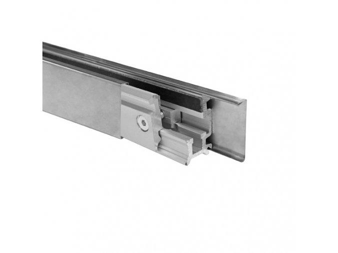 Zasklení pevné - set 3m profilu Elox, L=3000mm